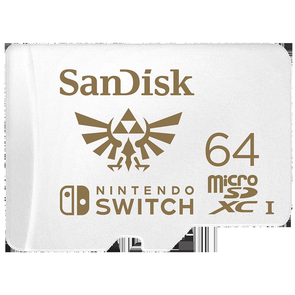 nintendo switch sd karte maximale größe SanDisk microSDXC Karten für die Nintendo Switch