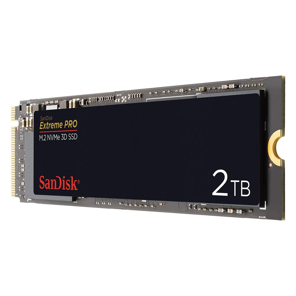 Ssd Karte.Extreme Pro M 2 Nvme 3d Ssd Sandisk