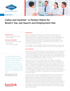 Catho and SanDisk: A Perfect Match for Brazil's Top Job Search and Employment Site