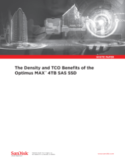 The Density and TCO Benefits of the Optimus MAX 4TB SAS SSD