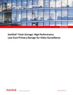 High-performance, low-cost storage for surveillance