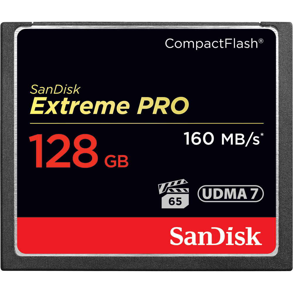 SanDisk Extreme PRO<sup>®</sup> CompactFlash<sup>®</sup> Speicherkarte
