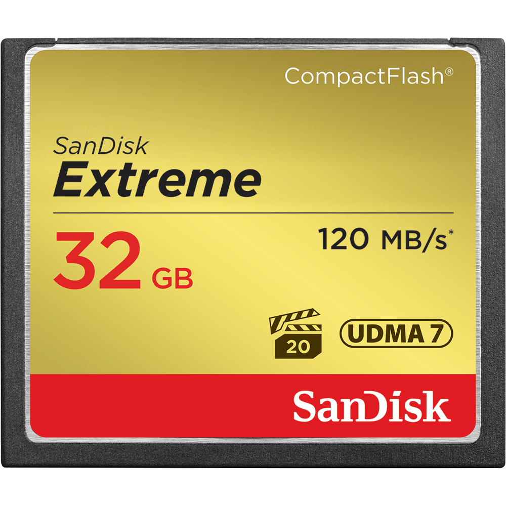 SanDisk Extreme<sup>®</sup> CompactFlash<sup>®</sup> Speicherkarte